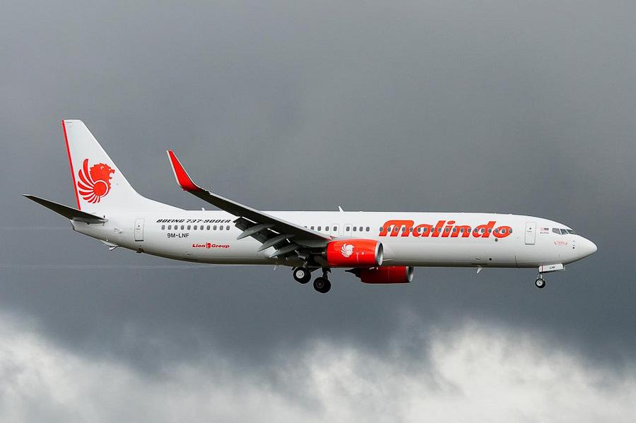 Cu un astfel de Boeing 737-900ER, nou-nouț, am zburat de la Kuala Lumpur în Bali.