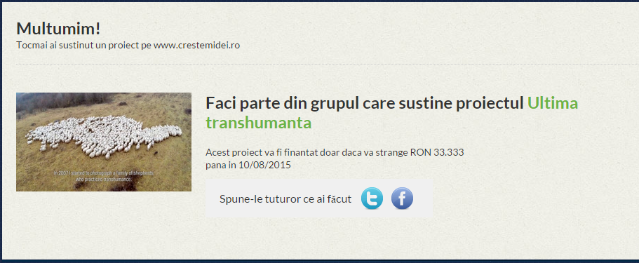 Donatie Transhumanta