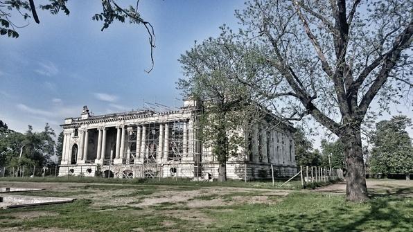 Micul Trianon, Domeniul Cantacuzino, Florești